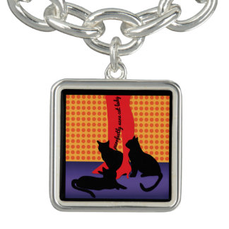 Purrfectly Sane Cat Lady Bracelet