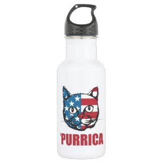 Purrica Murica Merica Patriotic Cat