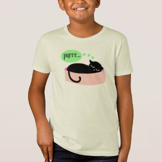 Purring Cat T-Shirt - Kids