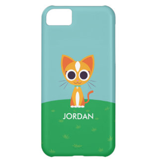 Purrl the Cat iPhone 5C Covers