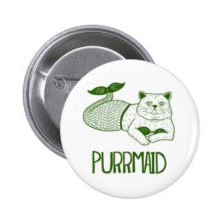Purrmaid Button