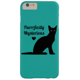 Purrrfectly Mysterious Barely There iPhone 6 Plus Case