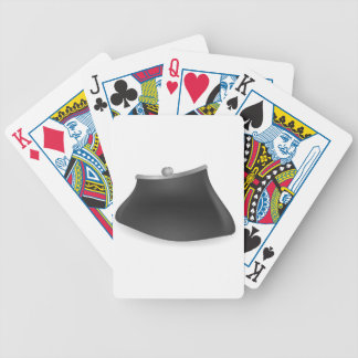 purse bicycle playing cards