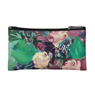 purse, colorful, or store make up. makeup bag