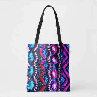 Purse Embroidery from India Tote Bag