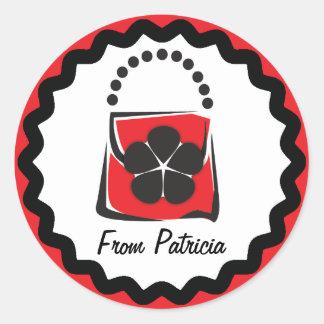 Purse Gift Label
