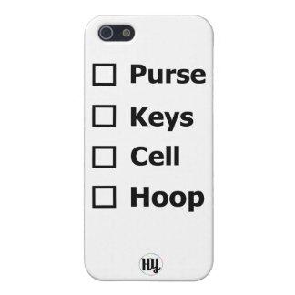 Purse Keys Cell Hoop Hula Hoop Hooper iPhone Case iPhone 5 Cover