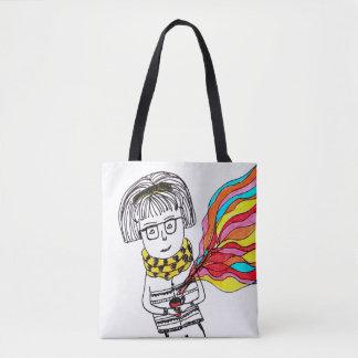 Purse magic life tote bag