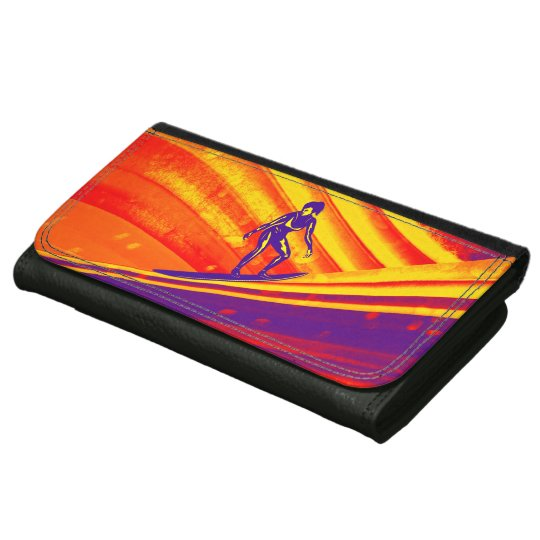 Purse, Sunset Surfer Girl Wallet