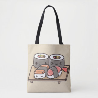 Purse Sushi Kawaii Tote Bag