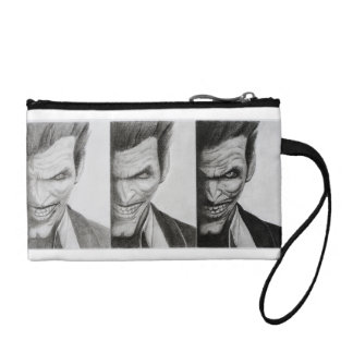 Purse with drawing Triple Joker
