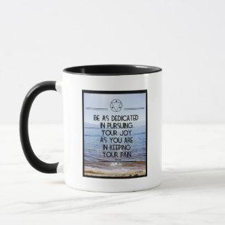 Pursue Your Joy 11 oz Combo Ceramic Mug