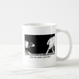 Pursue your passion Border Collie Coffee Mug