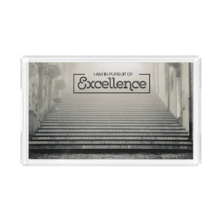 Pursuit Of Excellence Acrylic Tray