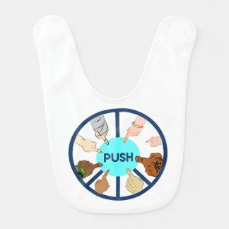 PUSH Baby Bib