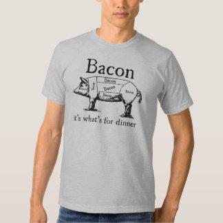 Push Button, Receive Bacon - Bacon Dispenser Tshirt