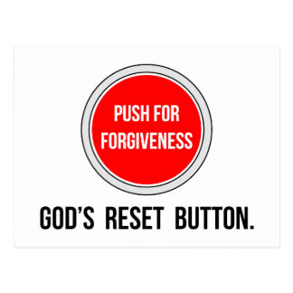 Push for Forgiveness Postcard