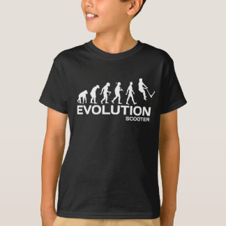 Push kick stunt SCOOTER EVOLUTION kids t-shirt