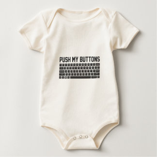 Push My Buttons Baby Bodysuit