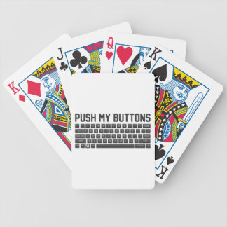 Push My Buttons Bicycle Playing Cards