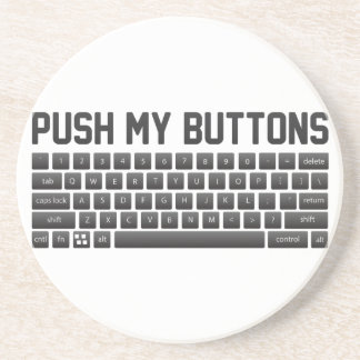 Push My Buttons Coaster