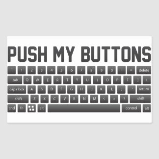 Push My Buttons Sticker