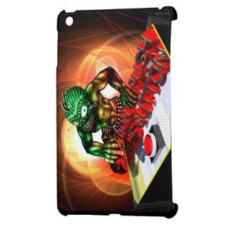 Push the button iPad mini case