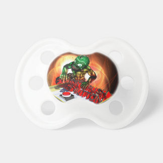 Push the button pacifier