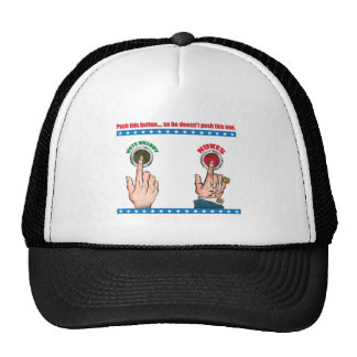 Push This Button... Trucker Hat