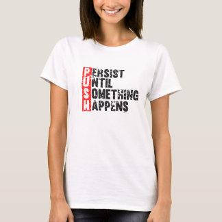 PUSH vintage look T-Shirt