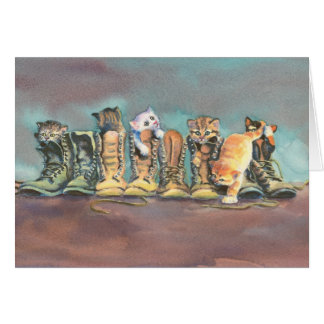 PUSS in BOOTS by SHARON SHARPE Card