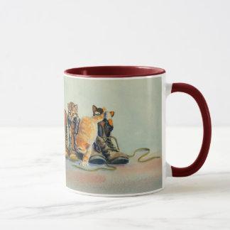 PUSS in BOOTS by SHARON SHARPE Mug