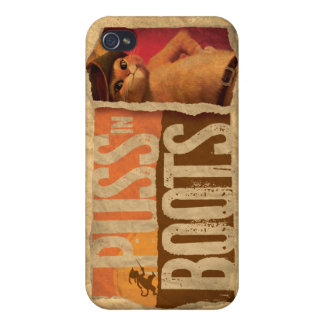 Puss in Boots Cases For iPhone 4