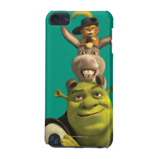 Puss In Boots, Donkey, And Shrek iPod Touch 5G Case