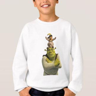 Puss In Boots, Donkey, And Shrek Sweatshirt