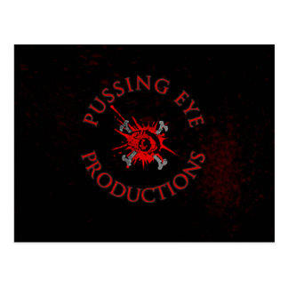 Pussing Eye Logo [POSTCARD] Postcard