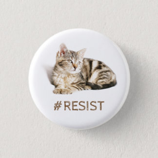 Pussy grabs back - #resist 1 inch round button
