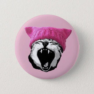 Pussy-hat Button