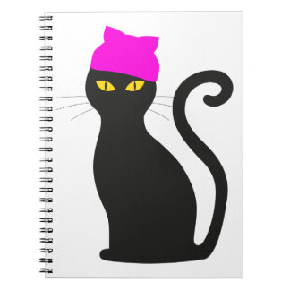 Pussy Hat Cat Notebook
