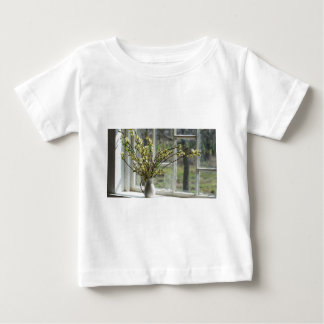 Pussy Willows By The Windowsill Baby T-Shirt