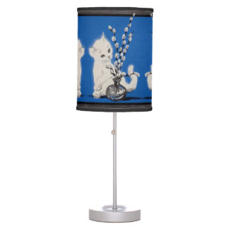 pussycat and pussywillow desk lamp