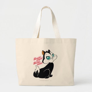 Pussyfoot Bright-eyed Kitty Large Tote Bag