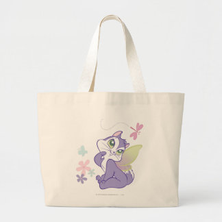 Pussyfoot Dragonfly Kitty Large Tote Bag