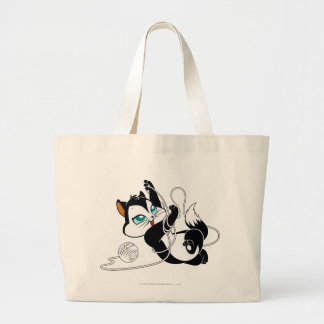 Pussyfoot Tangled Up Large Tote Bag