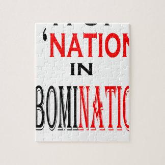 put abomination nation naming nonsense weird black puzzles