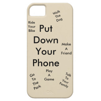 Put down your phone iPhone 5 covers