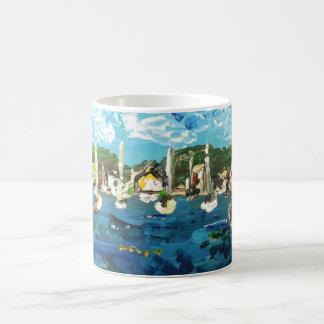 Put n Bay Lake Erie Island Painting #1 Coffee Mug