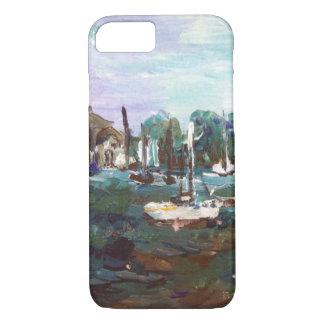 Put-n-Bay Lake Erie Island Painting #2 iPhone 8/7 Case
