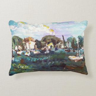 Put-n-Bay Lake Erie Island Painting #2 Pillow