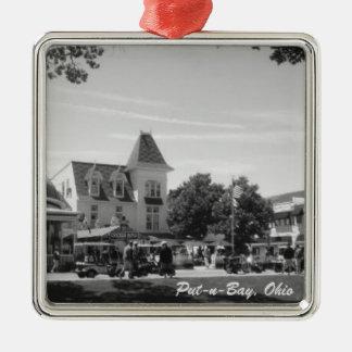 Put-n-Bay, Ohio Village Photo Ornament